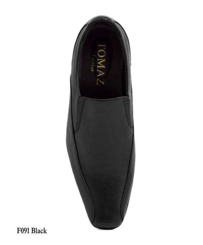 Load image into Gallery viewer, Tomaz F091 Formal Slip On (Black) - Tomaz Shoes (7789725896)