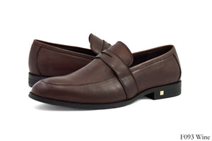 Tomaz F093 Penny Loafers (Wine) - Tomaz Shoes