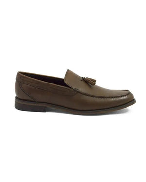 Load image into Gallery viewer, Tomaz F098 Tassel Loafers (Brown)