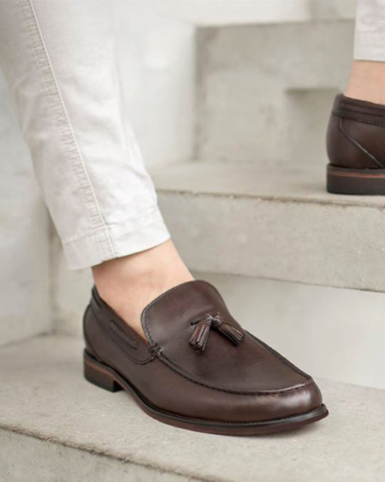 Tomaz F098 Tassel Loafers (Coffee) (8529758472)
