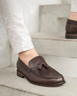 Load image into Gallery viewer, Tomaz F098 Tassel Loafers (Coffee) (8529758472)
