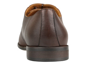 Load image into Gallery viewer, Tomaz F110 Plain Toe Oxfords (Brown) (1899549818976)