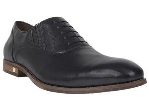 Load image into Gallery viewer, Tomaz F154 Formal Lace Up (Black) - Tomaz Shoes (413864296477)