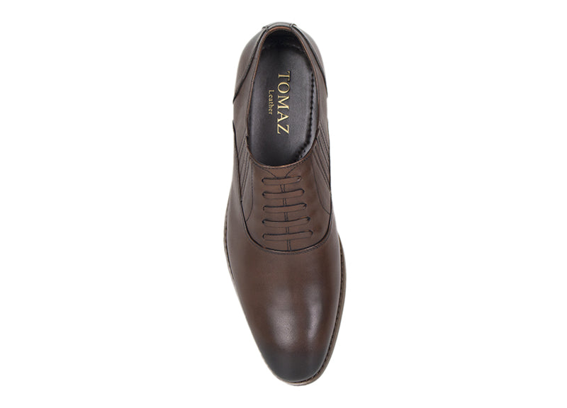 Load image into Gallery viewer, Tomaz F154 Formal Lace Up (Brown) - Tomaz Shoes (413864820765)
