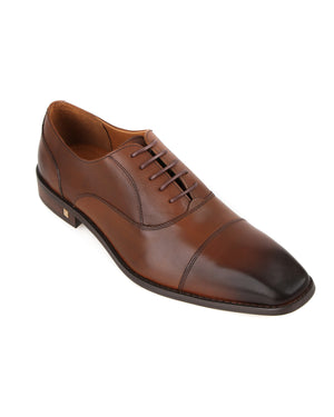 Load image into Gallery viewer, Tomaz F194 Oxford Formals (Brown) men shoe, men's shoe, men's italian dress shoes, men's dress shoes guide, men's dress shoes near me, dress shoes men, famous footwear near me, famous footwear locations, shoe store near me, best formal shoes, formal shoes