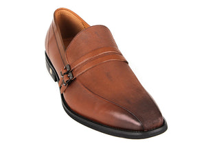 Load image into Gallery viewer, Tomaz F197 Formal Buckle Slip On (Brown) (1938727043168)