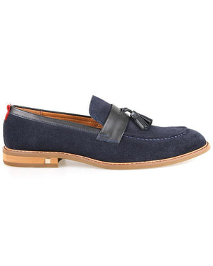 Tomaz F202 Tassel Loafers (Navy)
