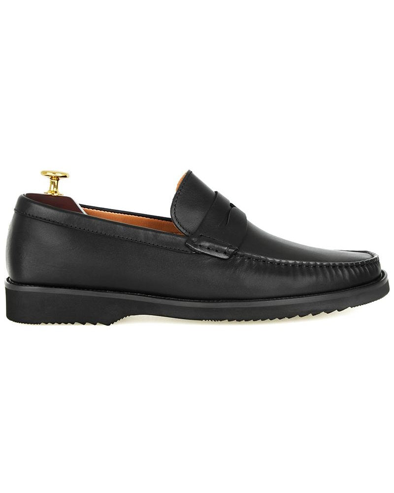 Tomaz F222 Penny Loafers (Black) (2020034707552)