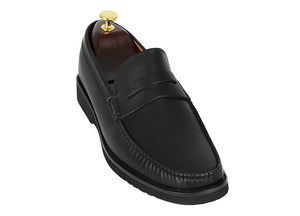 Tomaz F222 Penny Loafers (Black)