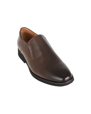 Load image into Gallery viewer, Tomaz F226 Brogue Slip Ons (Coffee) men shoe, men's shoe, men's italian dress shoes, men's dress shoes guide, men's dress shoes near me, dress shoes men, famous footwear near me, famous footwear locations, shoe store near me, best formal shoes, formal shoes