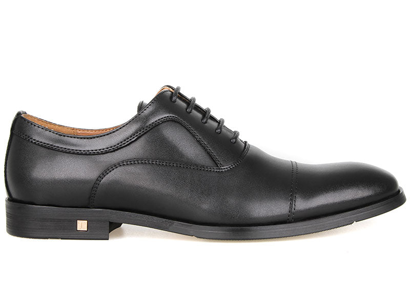 Tomaz F228 Oxford Lace Up Formals (Black)