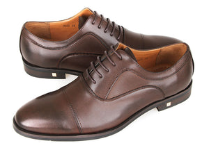 Load image into Gallery viewer, Tomaz F228 Oxford Lace Up Formals (Coffee) (2218300866656)