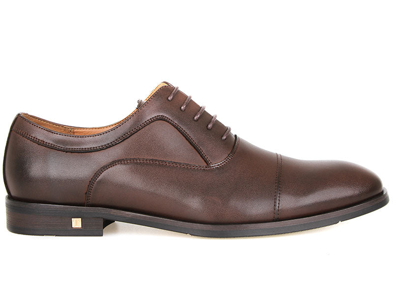 Tomaz F228 Oxford Lace Up Formals (Coffee)