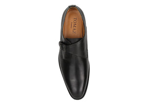 Tomaz F230 Single Monkstrap Loafers (Black) (1900921618528)
