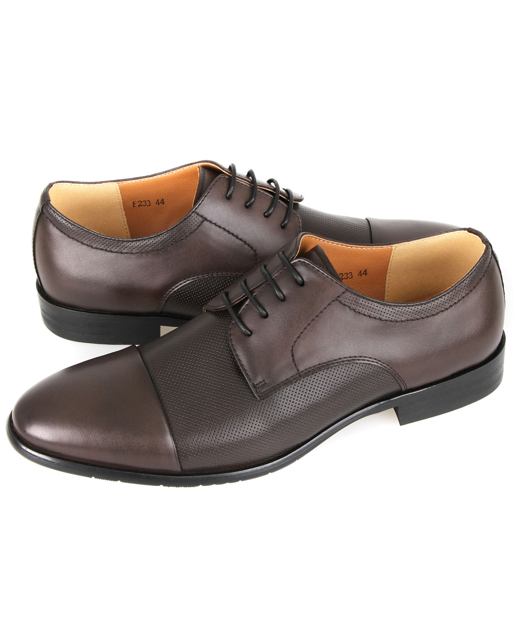 Tomaz F233 Derby Lace Up Formals (Coffee)