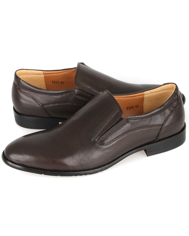 Load image into Gallery viewer, Tomaz F234 Formal Slip On (Coffee)