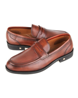 Load image into Gallery viewer, Tomaz F236 Penny Formal Slip On (Brown)