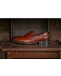 Tomaz F237 Formal Slip On (Brown) (1943018930272)