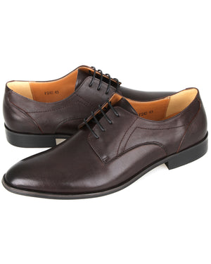 Load image into Gallery viewer, Tomaz F240 Derbie Lace Up Formal (Coffee)