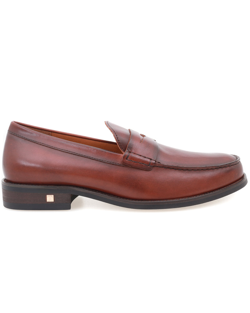 Tomaz F249 Penny Loafers (Brown)