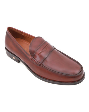 Load image into Gallery viewer, Tomaz F249 Penny Loafers (Brown)