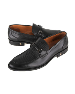 Load image into Gallery viewer, Tomaz F253 Formal Buckle Slip On (Black)