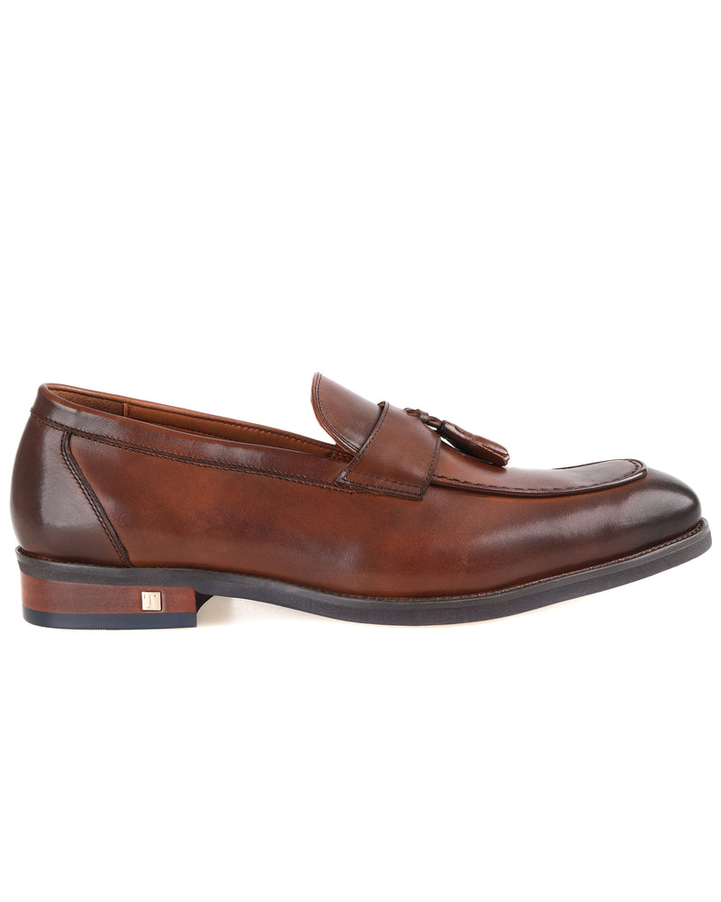 Tomaz F258 Double Tassel Loafers (Brown)