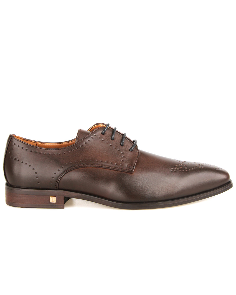 Tomaz F265 Brogue Derbies (Coffee)  men shoe, men's shoe, men's italian dress shoes, men's dress shoes, men's dress shoes near me, shoe shop near me, tomaz shoe locations, shoe store near me, formal shoes