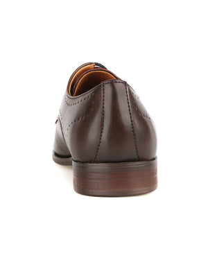 Load image into Gallery viewer, Tomaz F265 Brogue Derbies (Coffee)  men shoe, men's shoe, men's italian dress shoes, men's dress shoes, men's dress shoes near me, shoe shop near me, tomaz shoe locations, shoe store near me, formal shoes