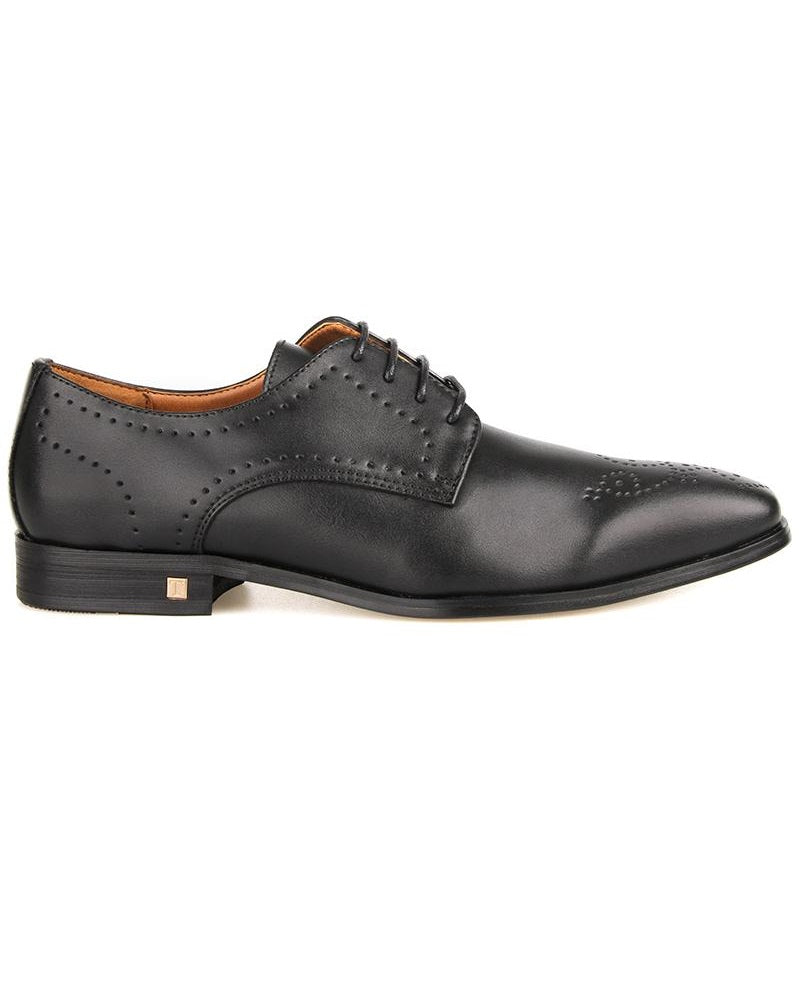 Tomaz F265 Brogue Derbies (Black) (4258154217568)