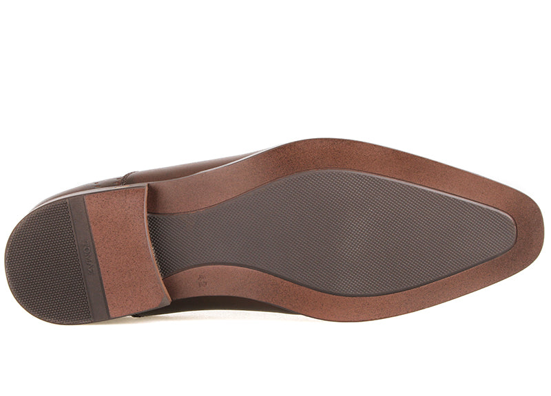 Tomaz F266 Formal Perforated Slip On (Coffee)