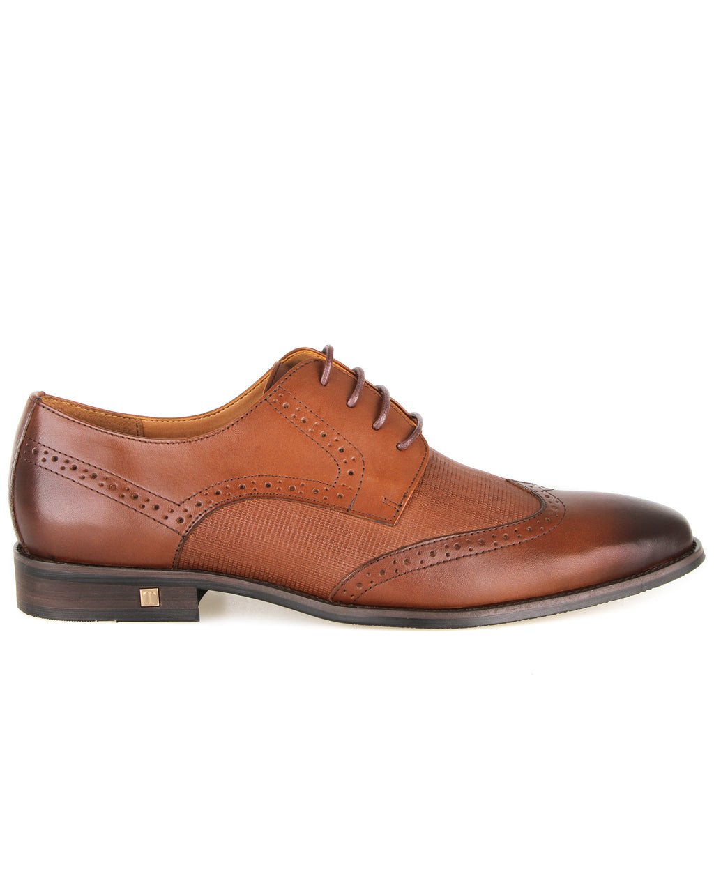 Tomaz F267 Formal Wingtip Oxford (Brown)
