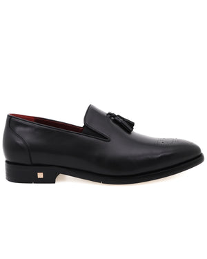 Load image into Gallery viewer, Tomaz F271 Tassel Loafers (Black)