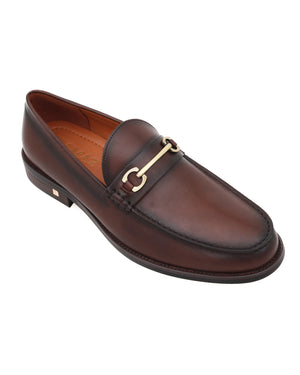 Load image into Gallery viewer, Tomaz F273 Horsebit Loafers (Coffee)