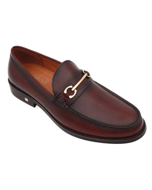 Load image into Gallery viewer, Tomaz F273 Horsebit Loafers (Wine)