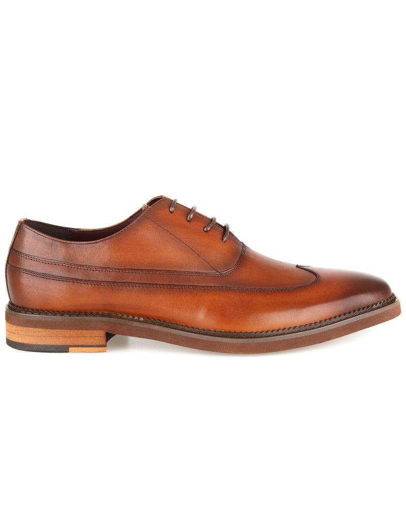 Load image into Gallery viewer, Tomaz F279 Formal Wingtip Oxford (Brown) men shoe, men's shoe, men's italian dress shoes, men's dress shoes, men's dress shoes near me, shoe shop near me, tomaz shoe locations, shoe store near me, formal shoes