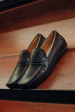 Tomaz F282 Penny Loafers (Brown) - Warehouse Clearance (4589220986976)