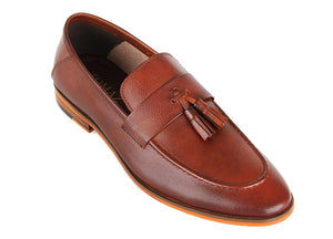 Tomaz F283 Tassel Loafers (Brown) (2287931490400)