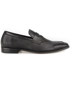 Tomaz F288 Formal Penny Loafers (Black) (4190051106912)