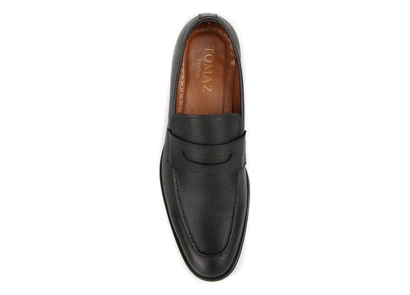 Tomaz F288 Formal Penny Loafers (Black)