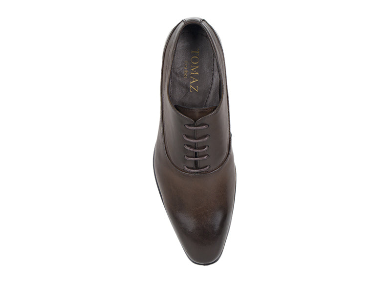 Load image into Gallery viewer, Tomaz F999C Lace Up Formal (Coffee) - Tomaz Shoes (413290299421)