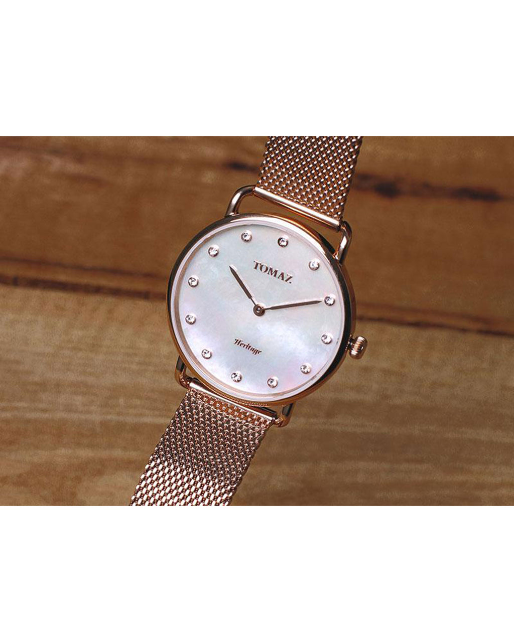 Tomaz Ladies Watch G1L-D1 (Rose Gold/Pearl)