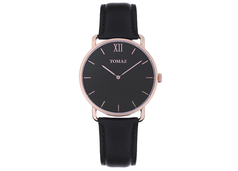 Tomaz Men's Watch G1M-D2 (Rose Gold/Black)