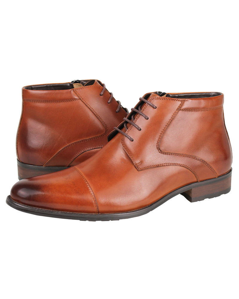 Load image into Gallery viewer, Tomaz HC002 Derby Boots (Brown) men shoe, men's shoe, men's italian dress shoes, men's dress shoes, men's dress shoes near me, shoe shop near me, tomaz shoe locations, shoe store near me, formal shoes