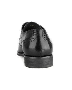 Load image into Gallery viewer, Tomaz HF009 Wingtip Derbies (Black)