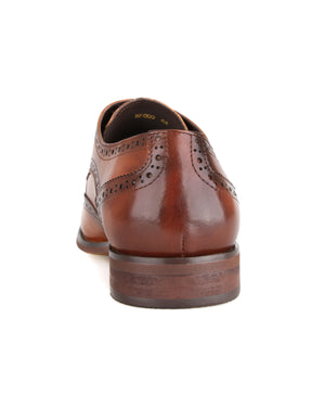 Load image into Gallery viewer, Tomaz HF009 Wingtip Derbies (Brown) men shoe, men's shoe, men's italian dress shoes, men's dress shoes, men's dress shoes near me, shoe shop near me, tomaz shoe locations, shoe store near me, formal shoes