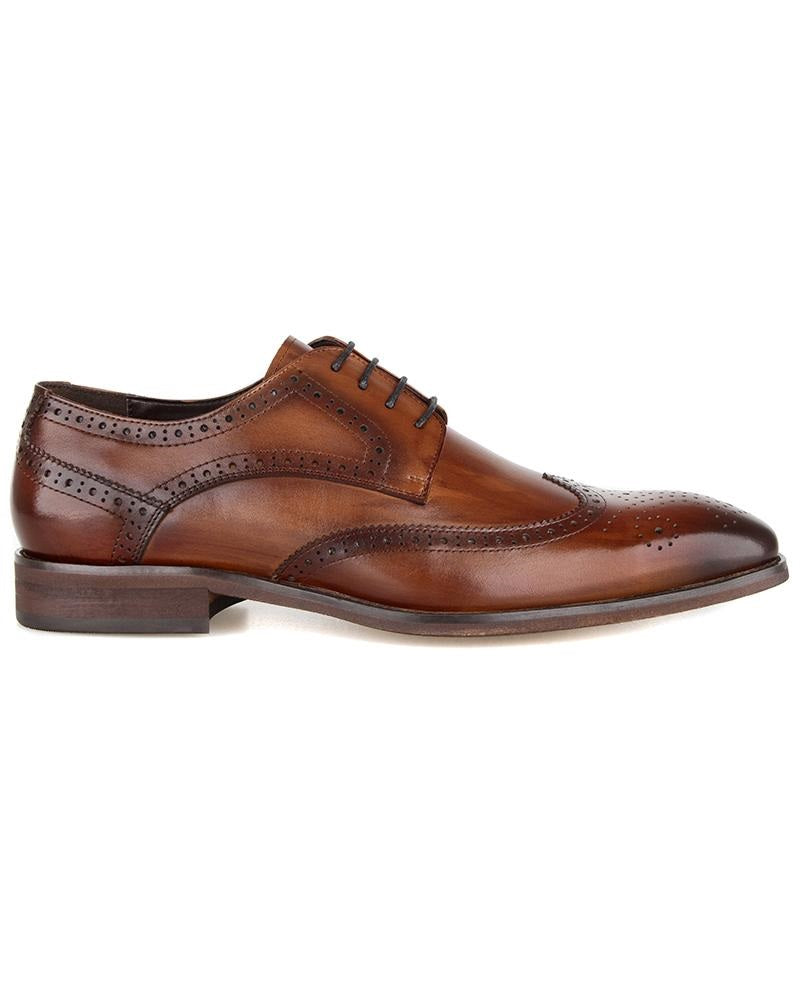 Tomaz HF009 Wingtip Derbies (Coffee) (2310284640352)