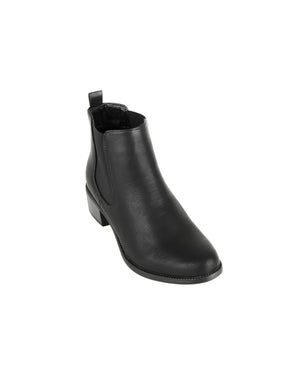 Load image into Gallery viewer, Tomaz JSB11 Ankle Boots (Black)