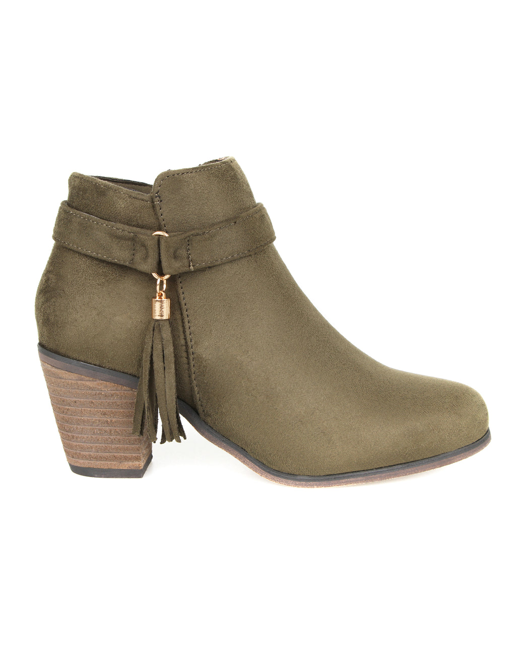 Tomaz JSB27 Ankle Boots (Green)