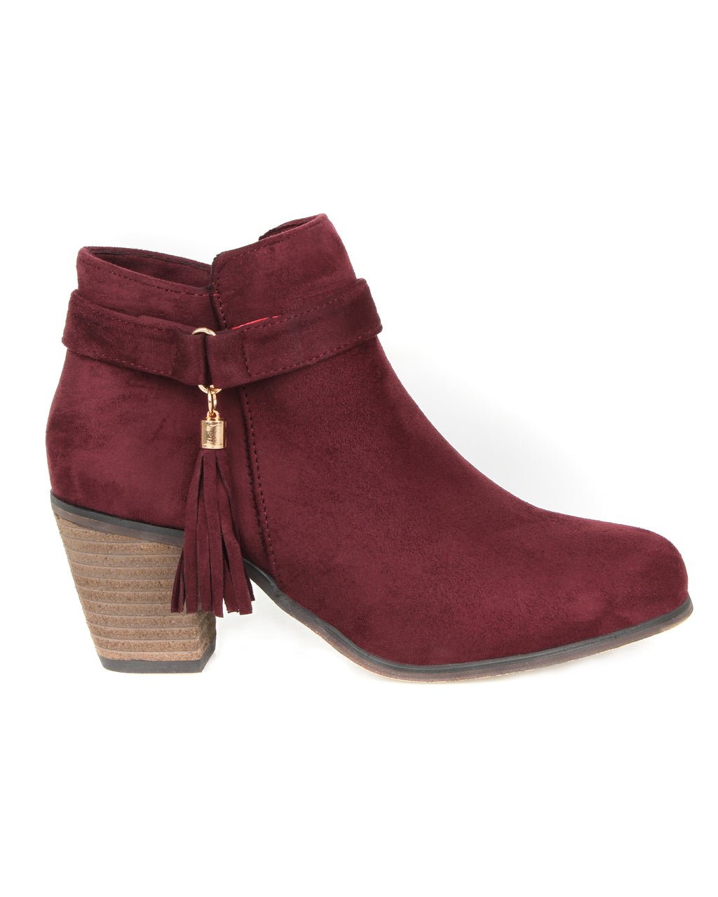 Tomaz JSB27 Ankle Boots (Maroon)